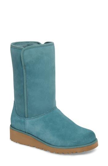 Ugg Amie - Classic Slim(TM) Water Resistant Short Boot, Green