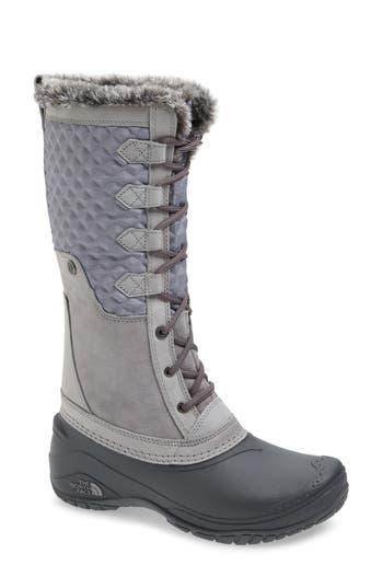 The North Face Shellista Iii Tall Waterproof Insulated Winter Boot, Grey