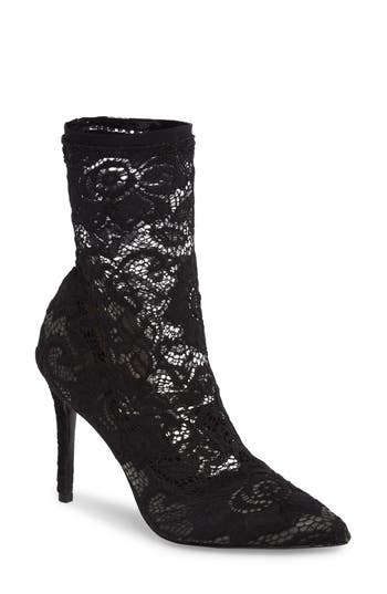 Charles By Charles David Player Sock Bootie, Black