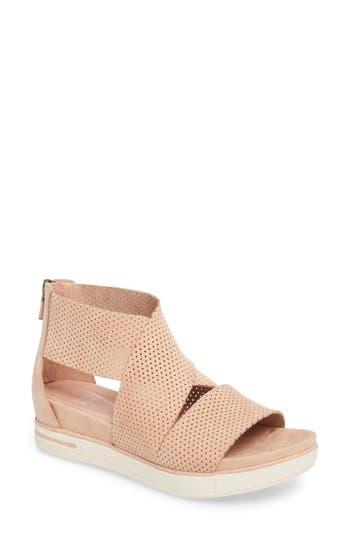 Eileen Fisher Sport Platform Sandal- Beige
