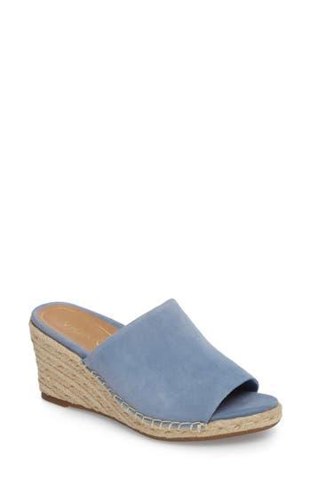 Vionic Kadyn Espadrille Wedge Sandal, Blue