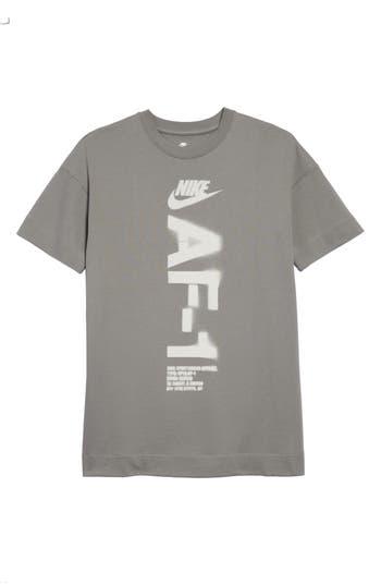 Nike Nsw Heavyweight Af-1 T-Shirt, Grey