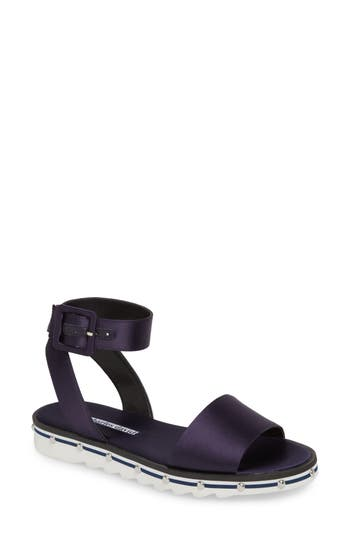 Charles David Shimmy Sandal, Blue