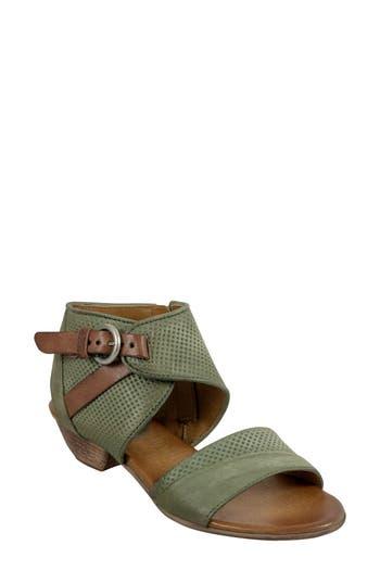 Women's Miz Mooz Chatham Textured Sandal, Size 38 EU - Green