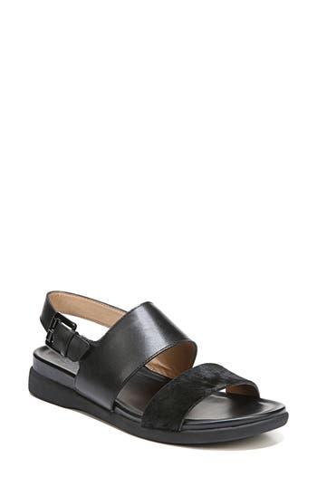 Women's Naturalizer Emory Wedge Sandal, Size 4.5 M - Black
