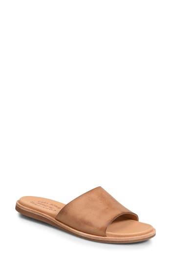 Kork-Ease Gila Slide Sandal, Brown