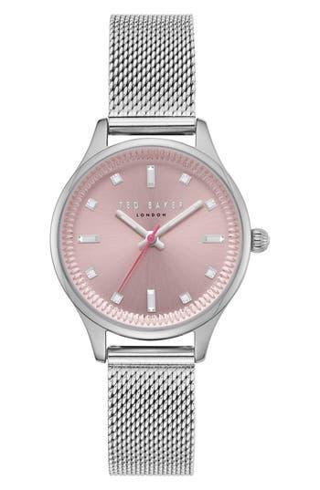 Ted Baker London Zoe Mesh Strap Watch, 32Mm