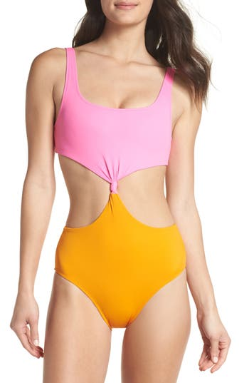 Solid & Striped The Bailey One-Piece Swimsuit, Pink