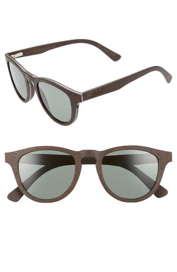 Shwood Francis 4m Polarized Wood Sunglasses - Dark Walnut
