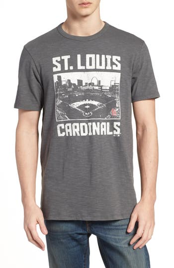47 Mlb Overdrive Scrum St. Louis Cardinals T-Shirt, Grey