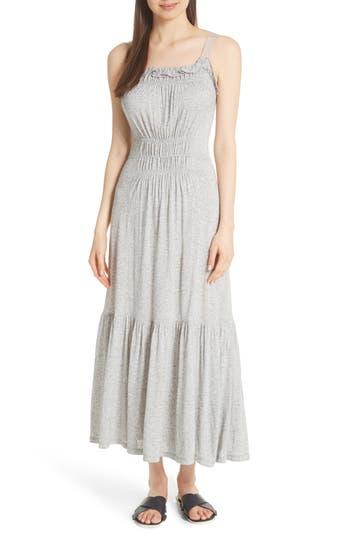 Rebecca Taylor Jersey Tank Maxi Dress, Grey