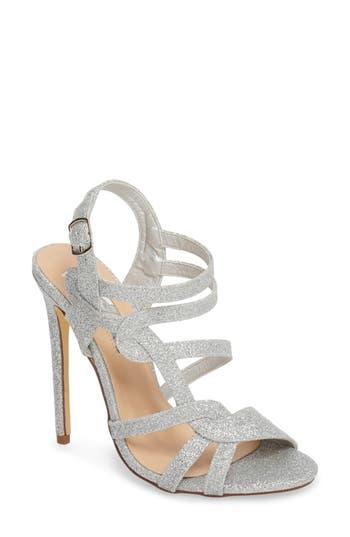 Women's Lauren Lorraine Gidget Sandal, Size 7.5 M - Metallic