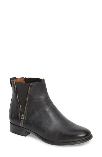 Frye Carly Chelsea Boot- Black