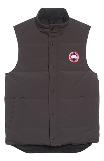Canada Goose Garson Quilted Down Vest, Grey