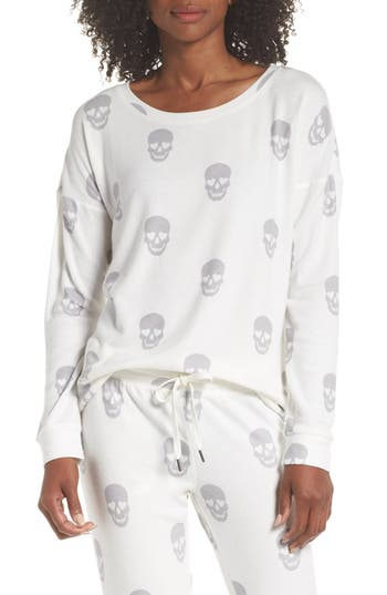 Pj Salvage SKULL LOUNGE TOP