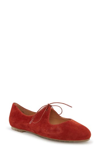 Me Too Cacey Mary Jane Flat- Red