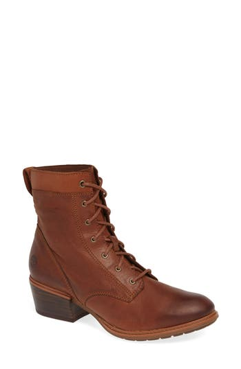 Timberland Sutherlin Bay Water Resistant Lace-Up Bootie, Brown