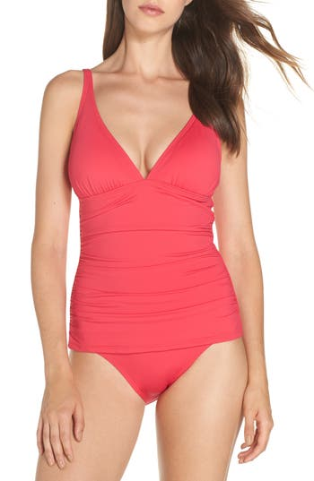 Tommy Bahama Pearl One-Piece Swimsuit, Pink