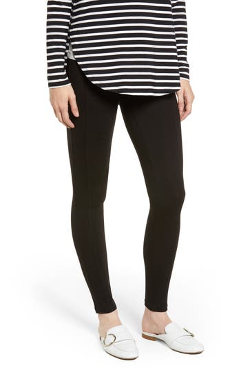 Wit & Wisdom Ponte Leggings, Black