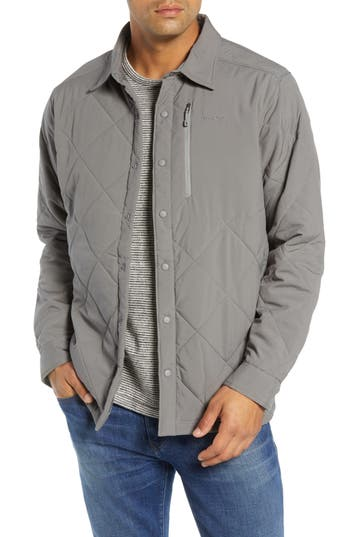 Patagonia Tough Puff Shirt Jacket, Grey