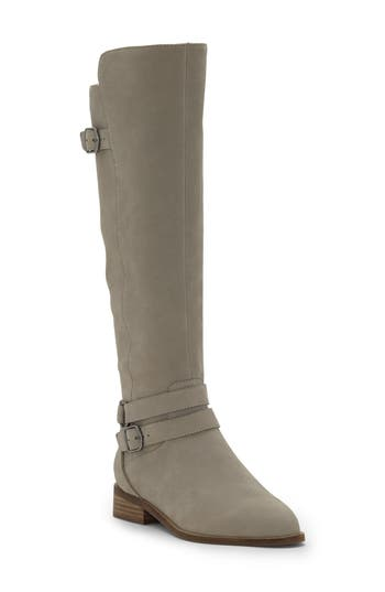 Lucky Brand Paxtreen Over The Knee Boot, Grey