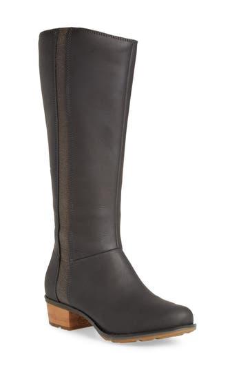 Chaco Cataluna Knee High Waterproof Boot, Black