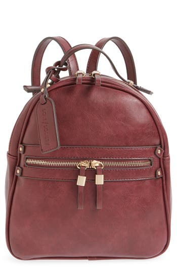 Sole Society Zypa Faux Leather Backpack -