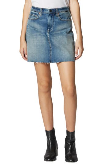 Blanknyc Denim Miniskirt, Blue
