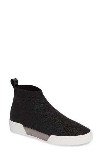 Grover Sneaker, Gunmetal Knit