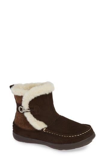 Woolrich Pine Creek Ii Faux Fur Trim Boot, Brown