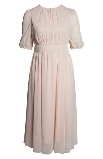 1930s Art Deco Plus Size Dresses | Tea Dresses, Party Dresses Womens Gal Meets Glam Collection Louise Mini Dot Flared Dress $188.00 AT vintagedancer.com