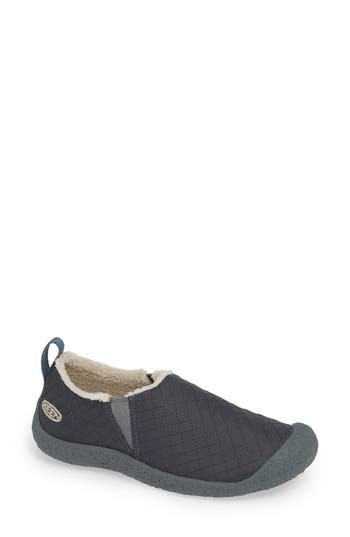 Keen Howser Quilted Nylon Slip-On, Grey