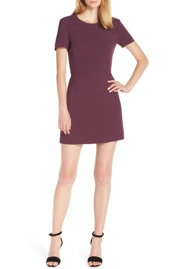 French Connection Sundae Whisper Minidress, Purple