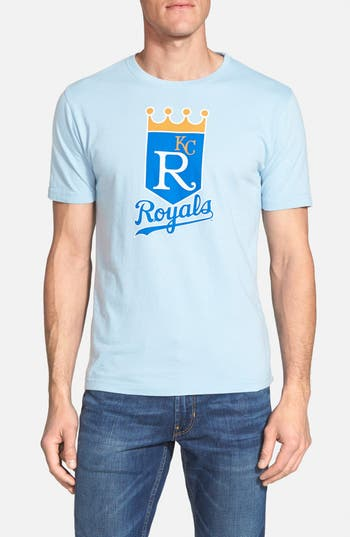 Men's Red Jacket 'Kansas City Royals - Brass Tacks' T-Shirt
