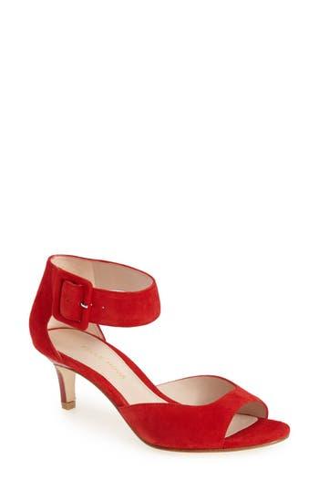 Women's Pelle Moda 'Berlin' Sandal, Size 10 M - Red