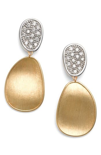 Women's Marco Bicego Lunaria Diamond Drop Earrings