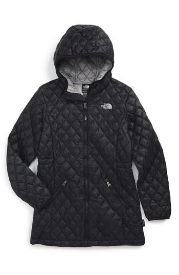 Girl's The North Face 'Thermoball™' Primaloft Quilted Parka