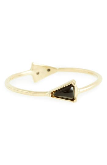 Women's Mociun Double Triangle Ring