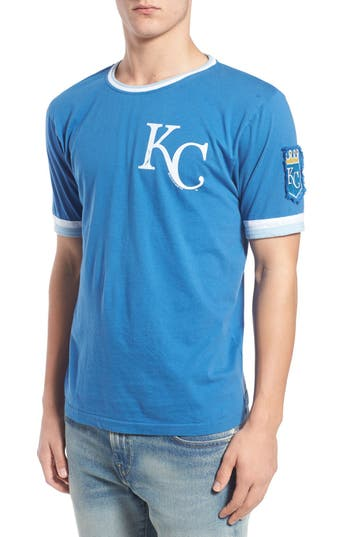 Men's Red Jacket 'Kansas City Royals - Remote Control' Trim Fit T-Shirt