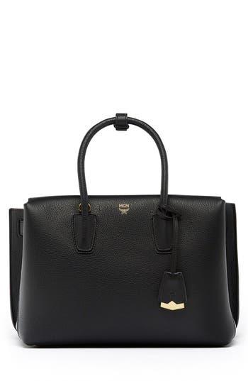 Mcm 'Medium Milla' Leather Tote -