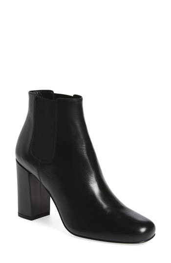 Women's Saint Laurent 'Babies' Block Heel Chelsea Boot
