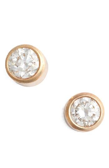 Zoe Chicco Diamond Bezel Stud Earrings