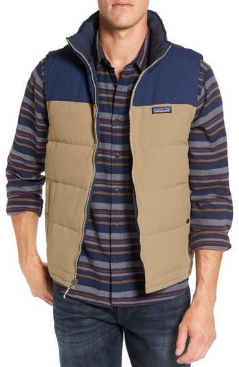 Men's Patagonia 'Bivy' Reversible Down Fill Vest