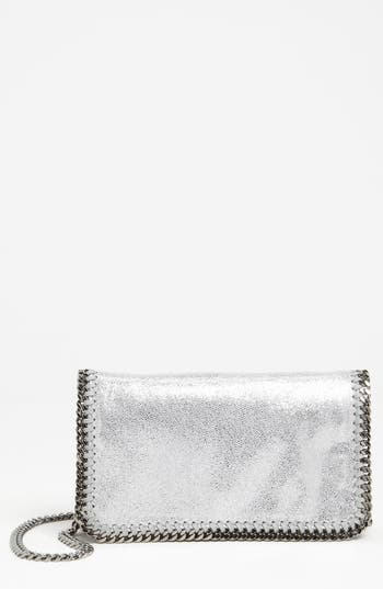 Stella Mccartney 'Falabella' Crossbody Bag - Metallic
