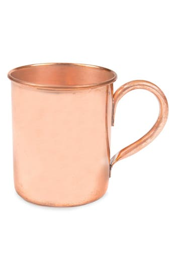 Cathy's Concepts Monogram Moscow Mule Copper Mug, Size One Size - Metallic
