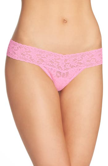 Women's Hanky Panky Signature Lace Low Rise Thong