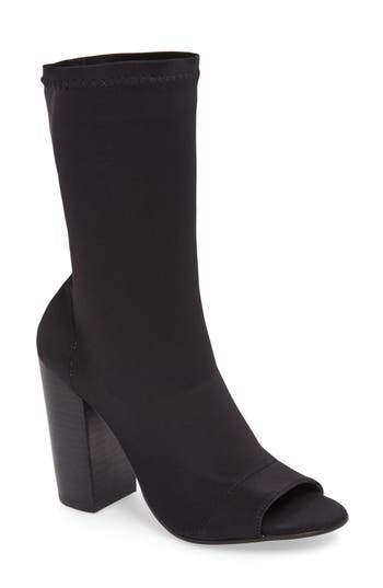 Women's Tony Bianco Malo Open Toe Stretch Bootie