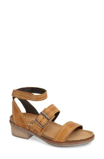 Women's Naot Beatnik Sandal, Size 6US / 37EU - Brown