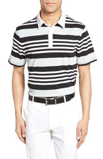 Men's Ag The Benson Stripe Piqué Polo