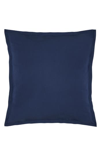Kassatex Lorimer 300 Thread Count Euro Sham, Size Euro - Blue